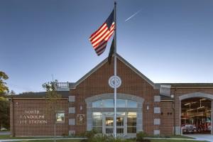 Randolph Fire Station-7961frontflag
